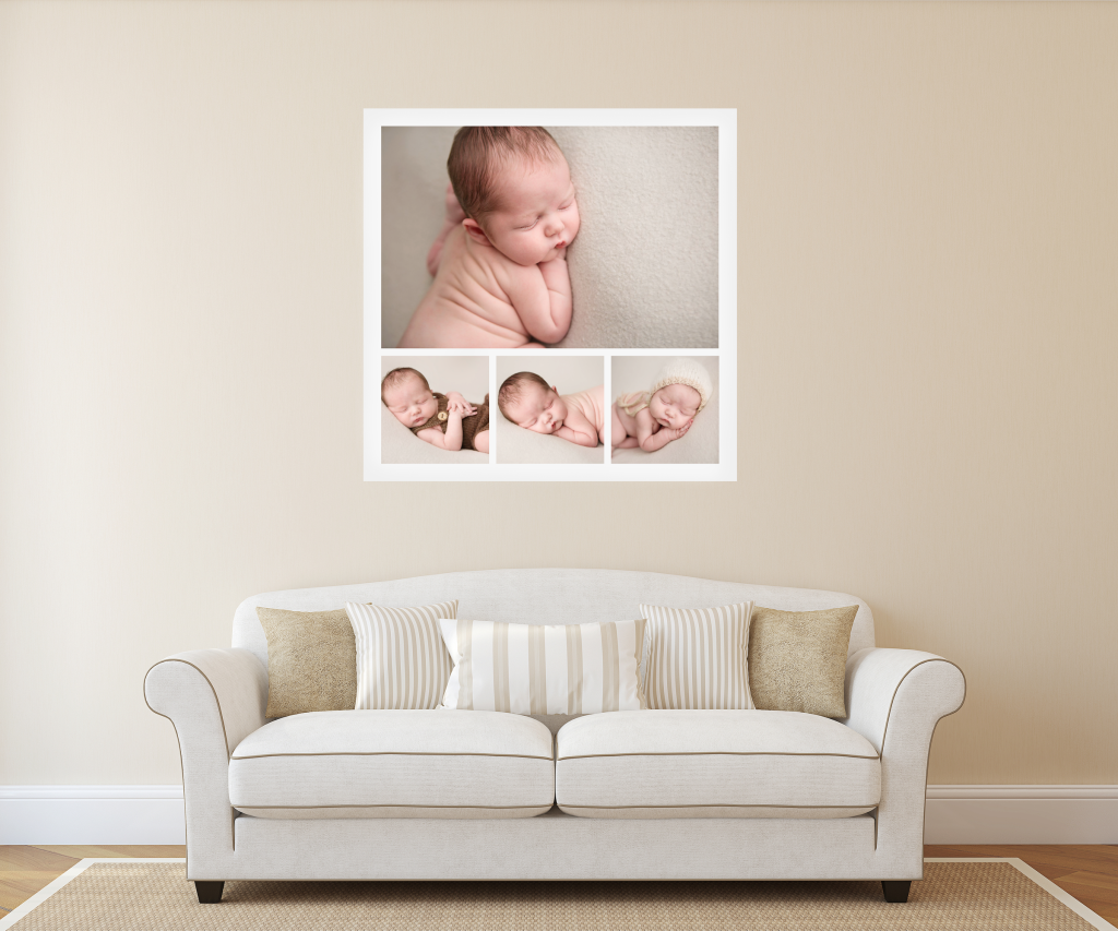 wall art lounge room newborn