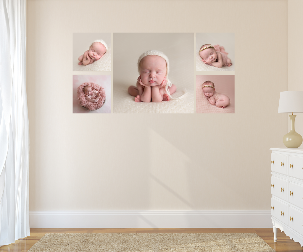 newborn canvas wall art