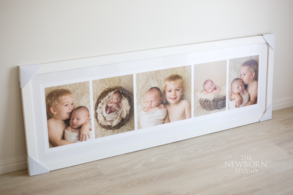 framed photos siblings photographer brisbane