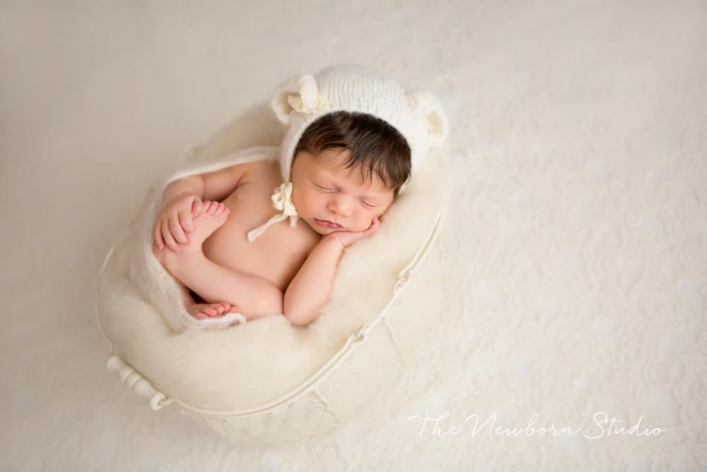 newborn photos brisbane cream organic