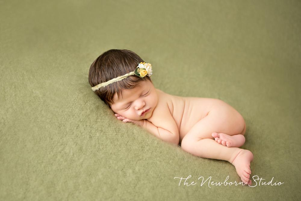 baby photographer brisbane green newborn