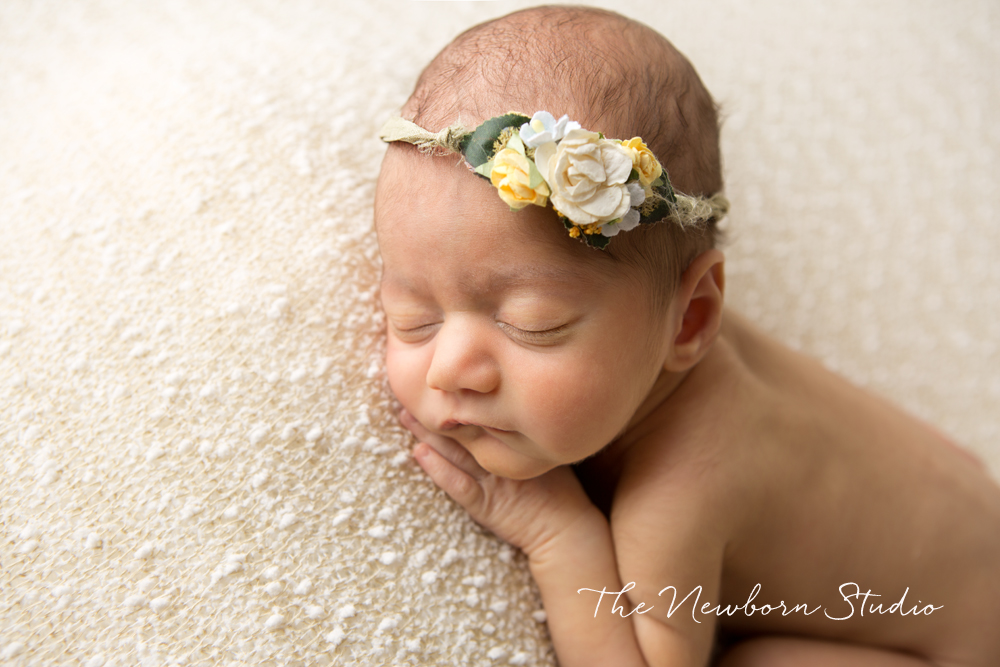 baby girl indian studio photo