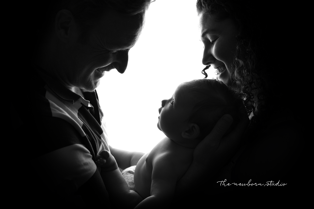 family photo backlit