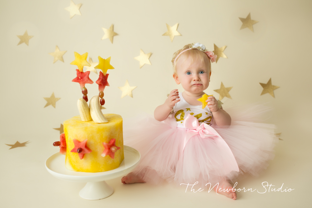 fruit smash first birthday photographer brisbane