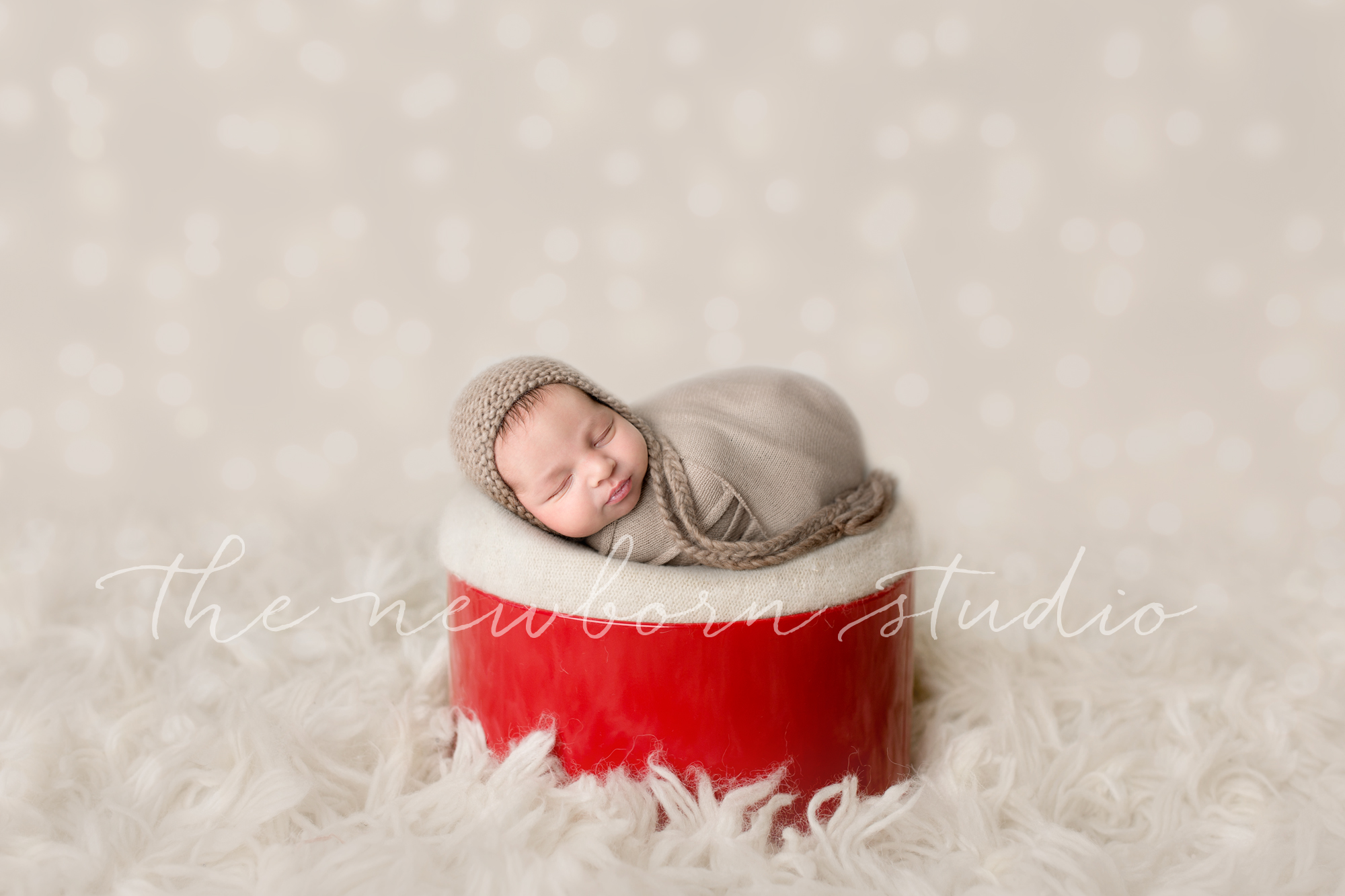 Christmas newborn digital backdrop easy