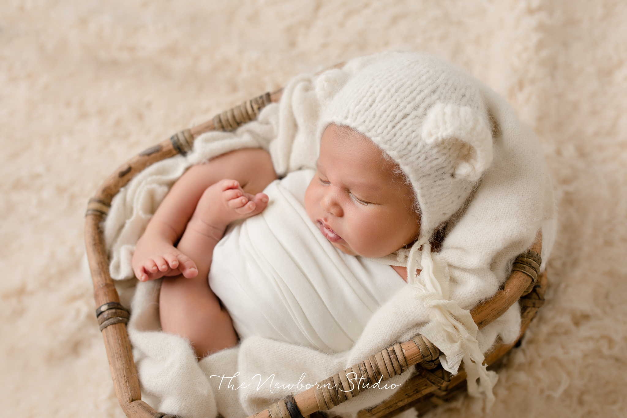 baby boy cream neutral hat newborn brisbane