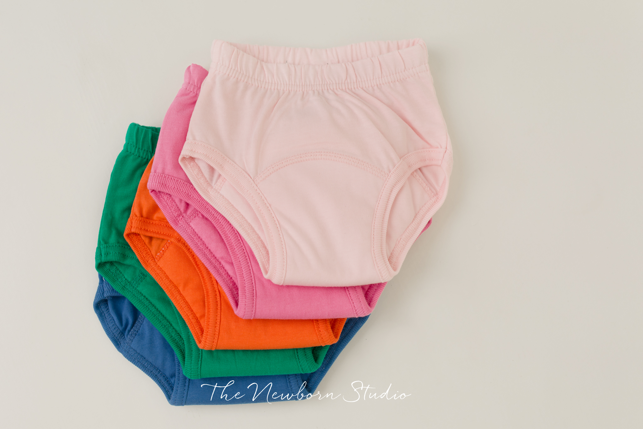 colourful undies kids brolly sheets