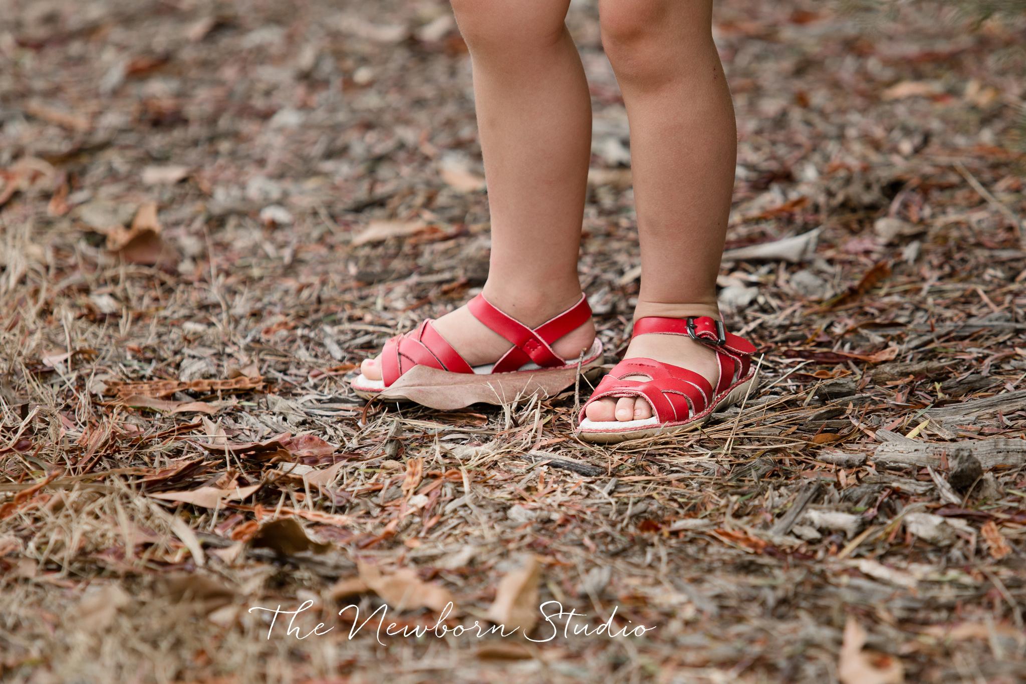 coastal sandals photographer