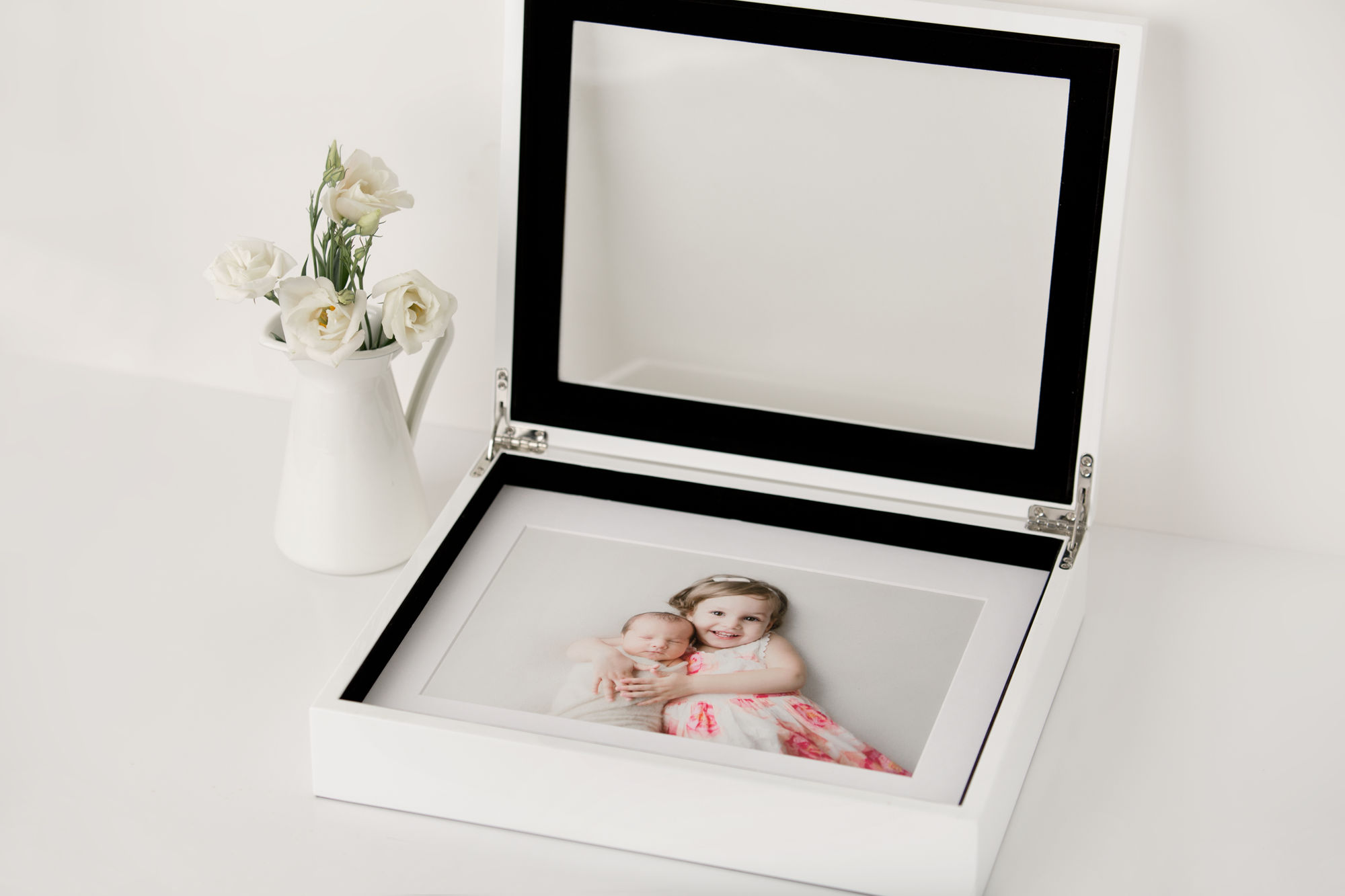 newborn photo prints box