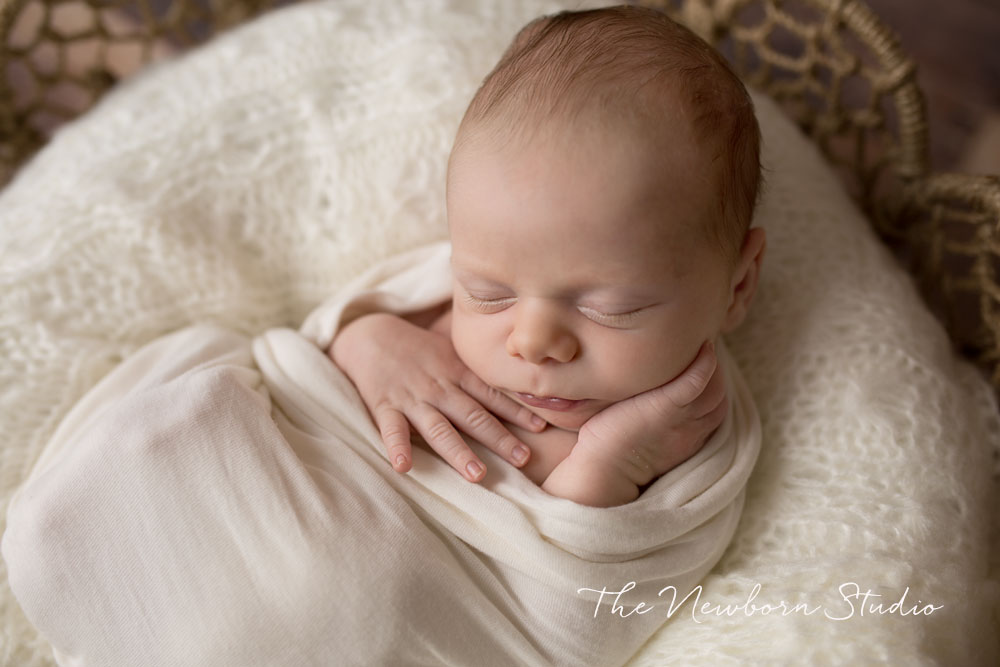 newborn baby boy studio photographer
