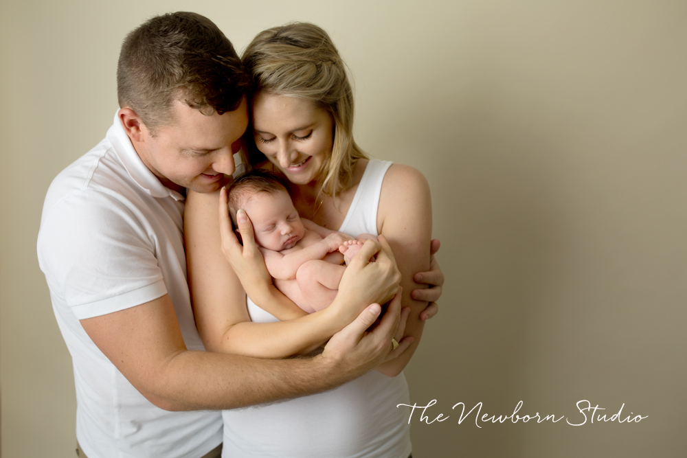 newborn family brisbane studio