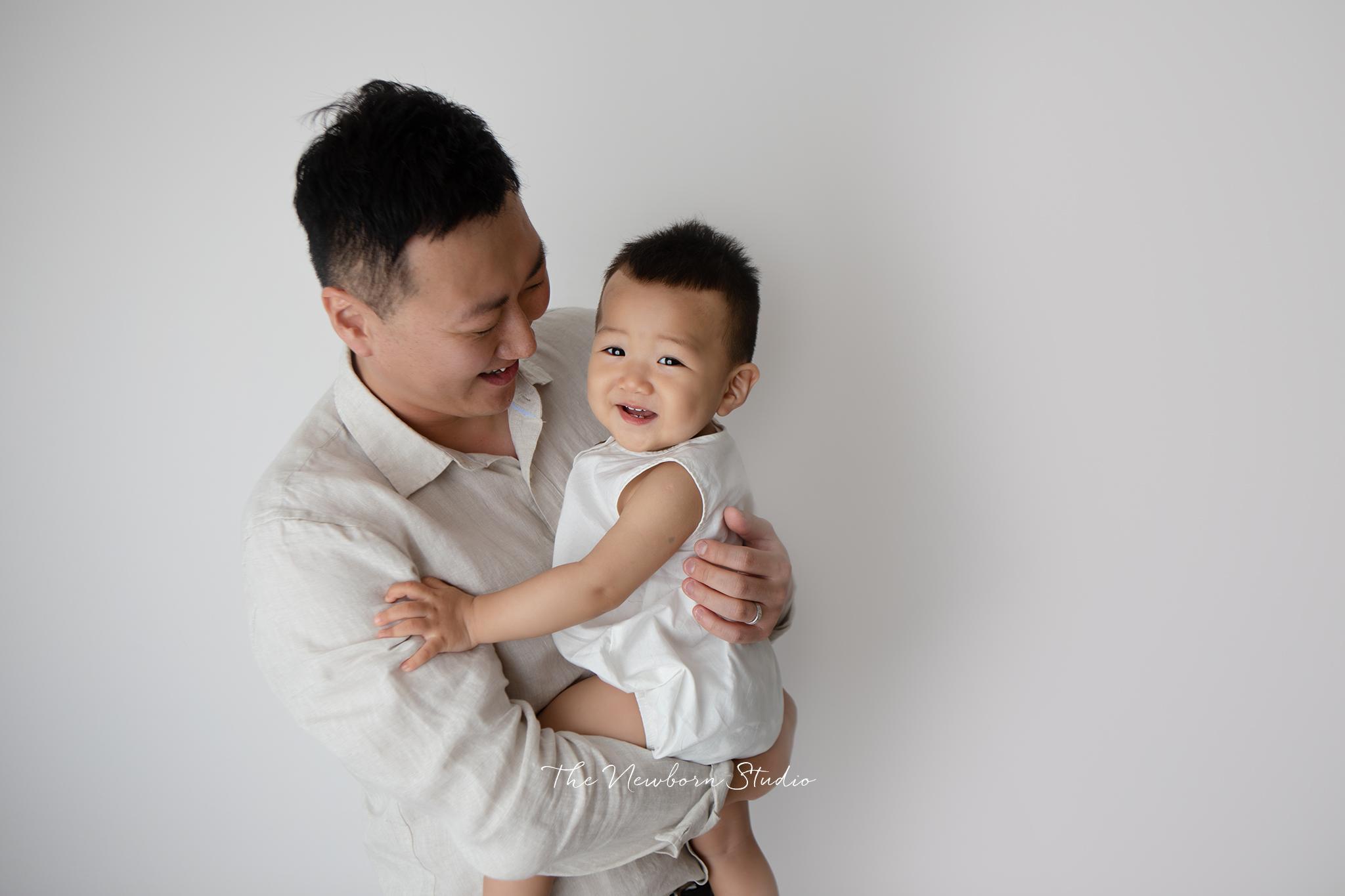 dad baby photos